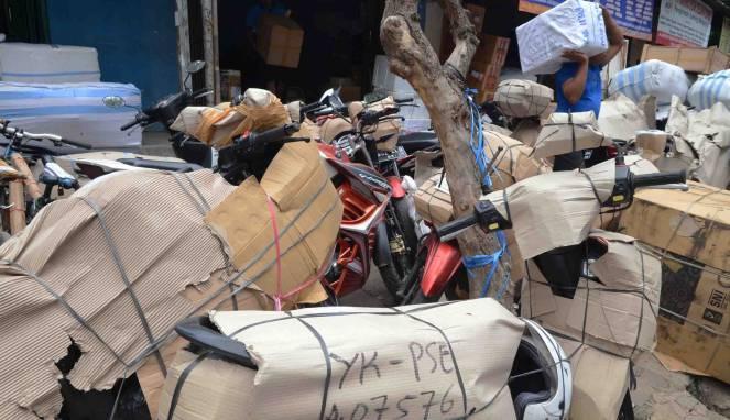 Prosedur dan harga paket motor ke kampung halaman jelang mudik